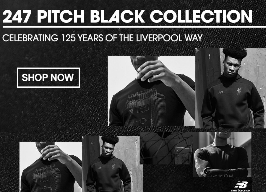 Liverpool 247 Pitch Black Collection Available Now