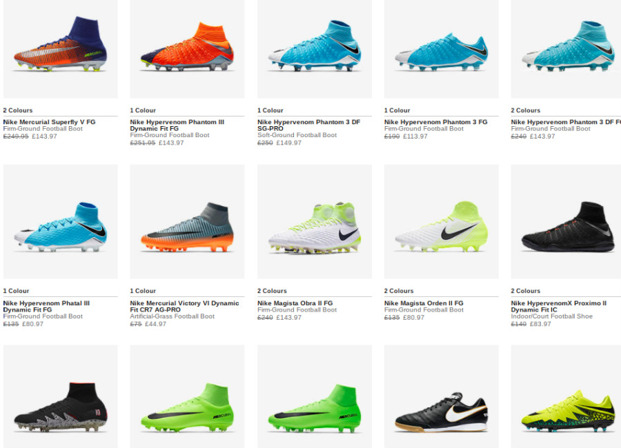 Nike Football 20 Off Selected Football Products