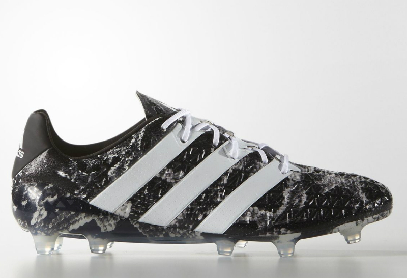Adidas Ace 16 1 Deadly Focus Firm Ground Boots Core Black White