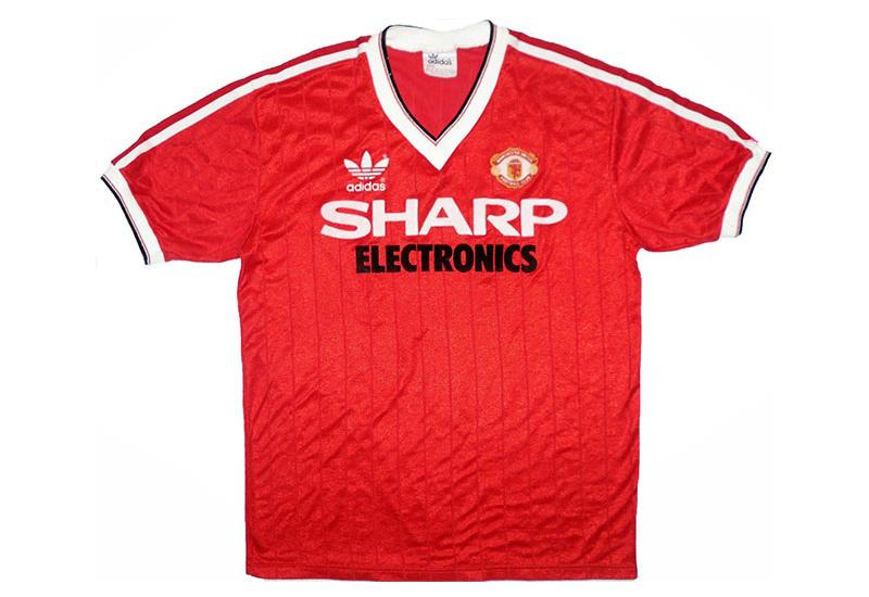 0ea102a6e Adidas 1983-84 Manchester United Home Shirt