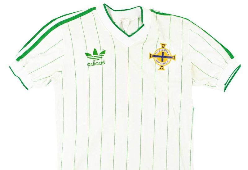 db721c27ec Adidas 1985-86 Northern Ireland Away Shirt | Vintage Football Shirts ...