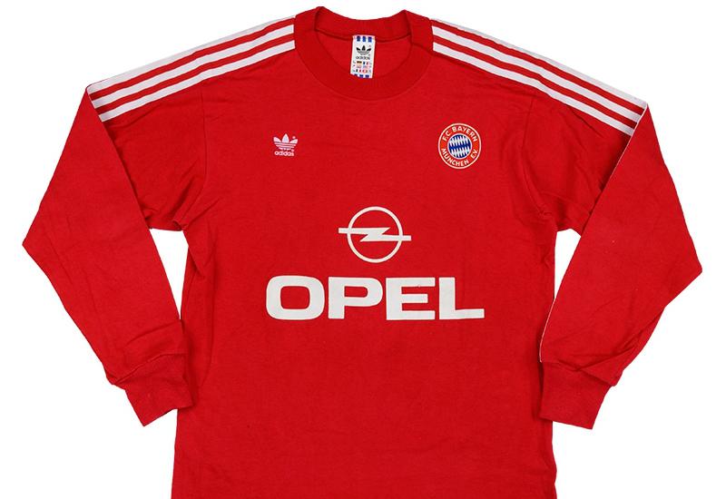 best service 2a5eb 820e0 Adidas 1989-91 Bayern Munich Match Issue Home Shirt ...