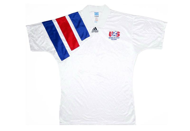 089bae92fd81c Adidas 1992-94 USA Home Shirt   Vintage Football Shirts   Football ...