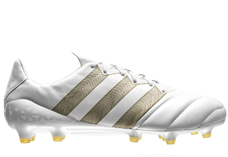Adidas Ace 16 1 Etch Pack Leather Fg Ag White Gold White