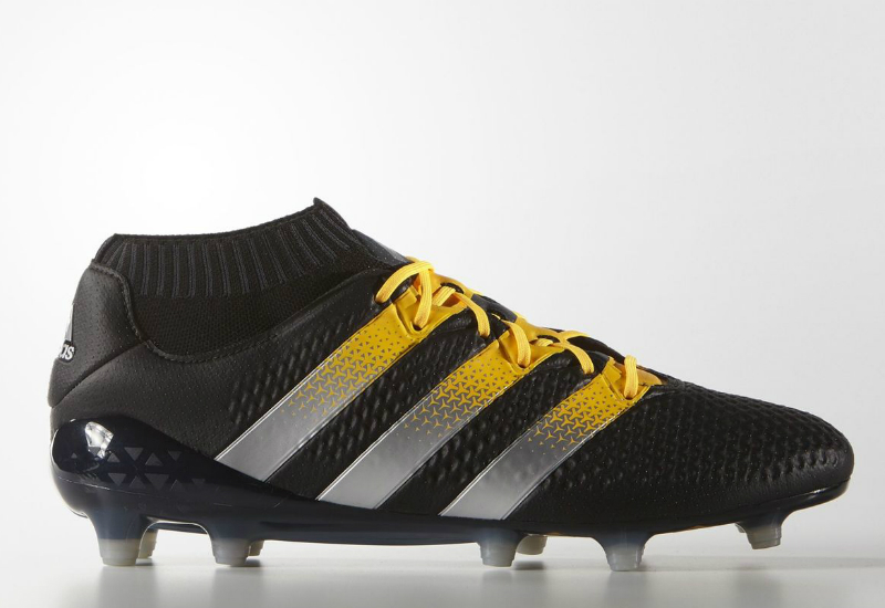 16493373784a2 Adidas Ace 16 1 Primeknit Firm Artificial Ground Boots Core Black Silver  Met Solar Gold