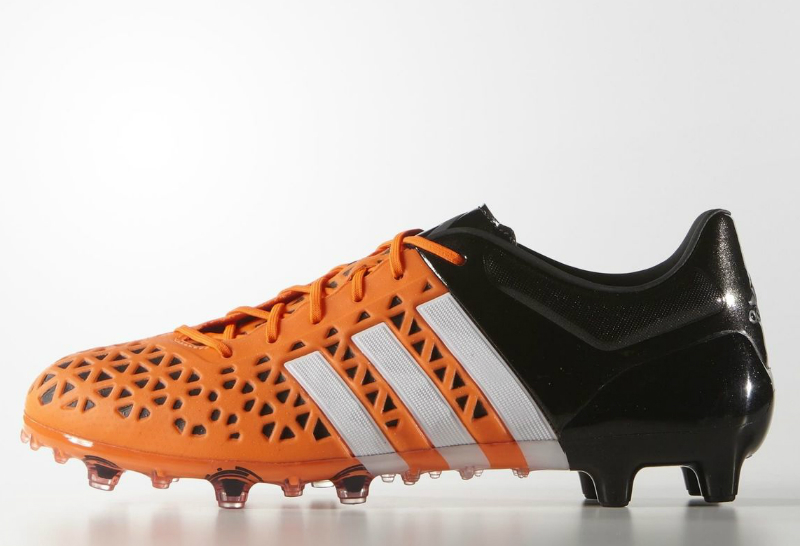 Adidas Ace15 1 Firm Artificial Ground Boots Solar Orange White Core Black