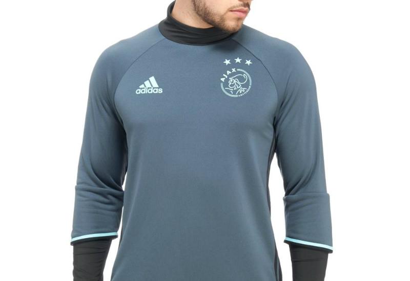 9af096c6b15 Adidas Ajax 2016/17 Training Top - Black / Bold Onix / Clear Aqua ...
