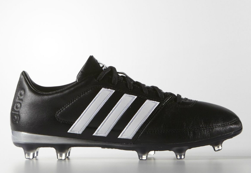 Adidas Gloro 16 1 Firm Ground Boots Core Black White Matte Silver