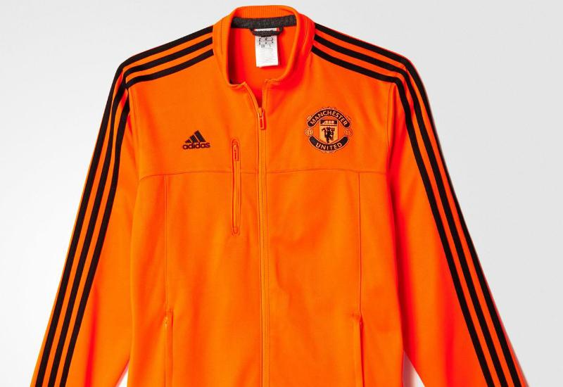7a703e5705e Adidas Manchester United Fc Anthem Jacket Solar Red Black