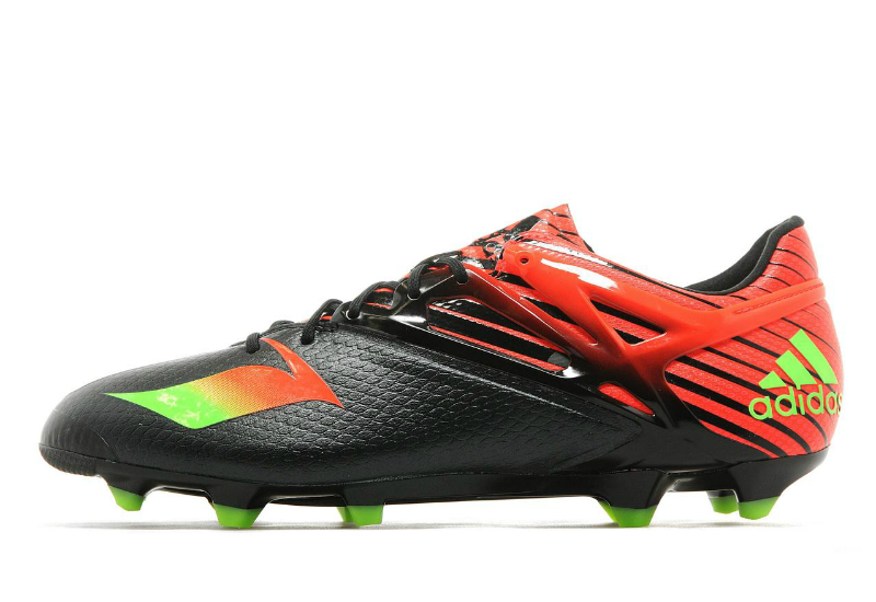 Adidas Messi 15 1 Firm Artificial Ground Boots Core Black Solar Green Solar Red