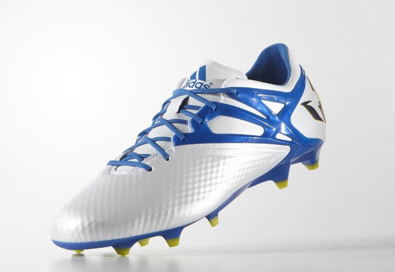 Adidas Messi15 1 Firm Artificial Ground Boots White Prime Blue Core Black