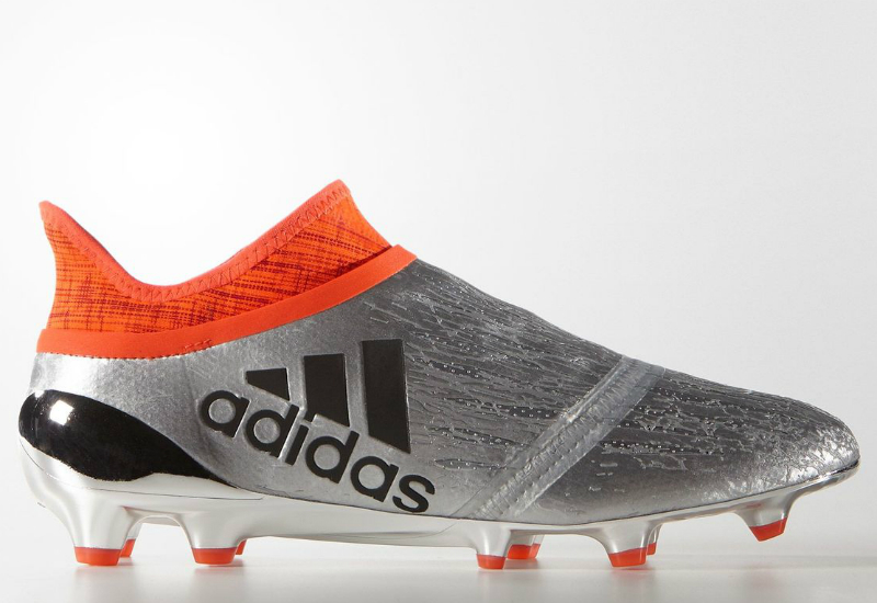bb8ef4fbe76 Adidas X 16+ Purechaos Firm Ground Boots - Silver Met   Core Black   Solar  Red