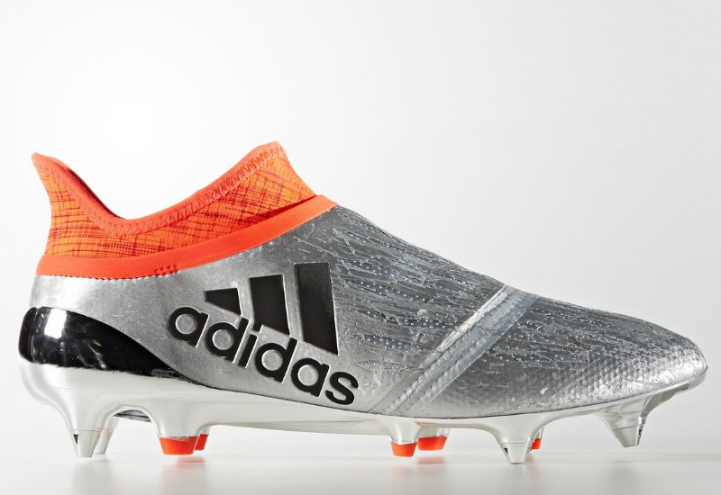 Adidas X 16 Purechaos Soft Ground Boots Silver Met Core Black Solar Red