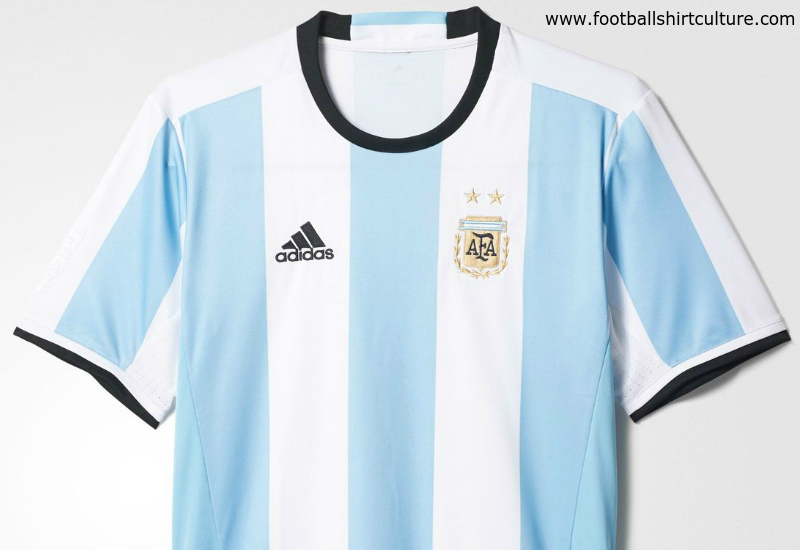097f4ad3 Argentina 2016 Adidas Home Football Shirt | 16/17 Kits | Football ...