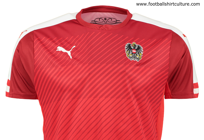 Austria 2016 Puma Home Football Shirt