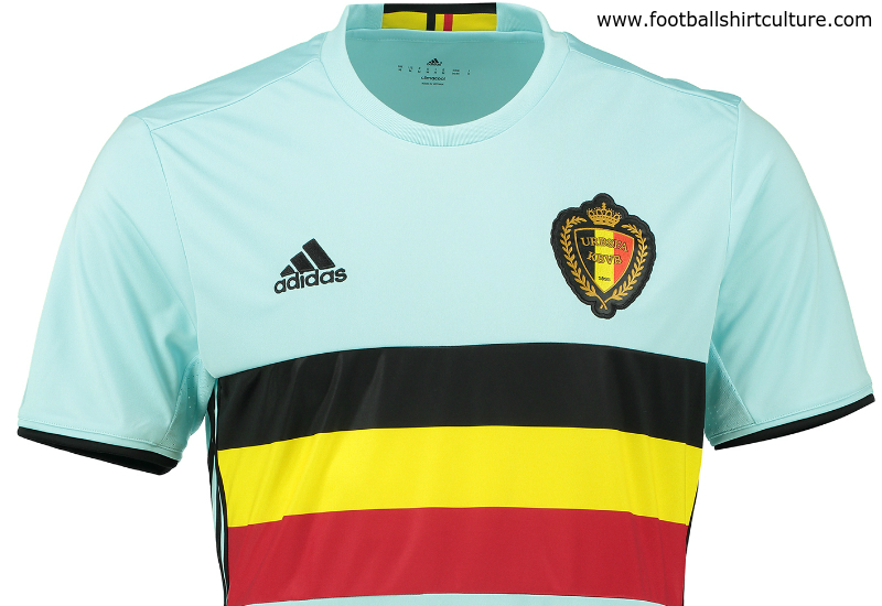 Belgium Euro 2016 Adidas Away Football Shirt