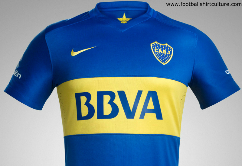 Boca Juniors 2016 Nike Home Kit