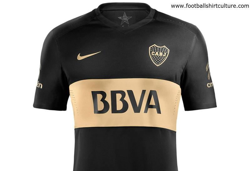 the best attitude 67544 fc359 Boca Juniors 2016 Nike Third Kit   16/17 Kits   Football ...