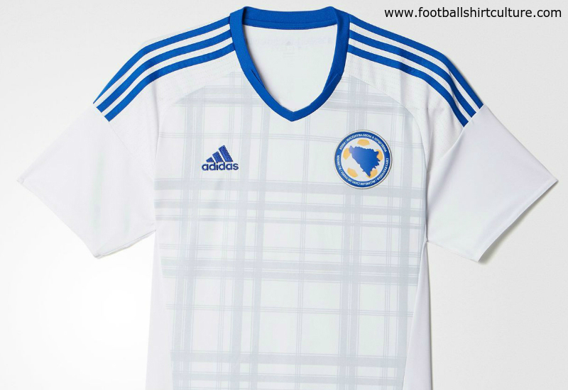 Bosnia Herzegovina 2016 Adidas Away Football Shirt