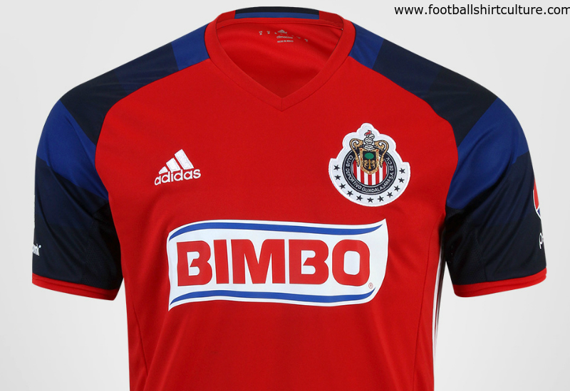 Chivas 2016 Adidas Third Football Shirt