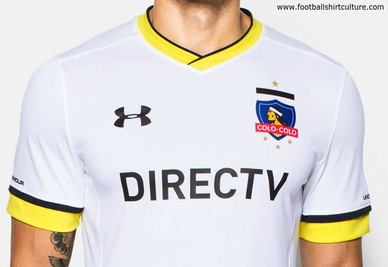 Colo Colo 2016 Under Armour Home Football Shirt
