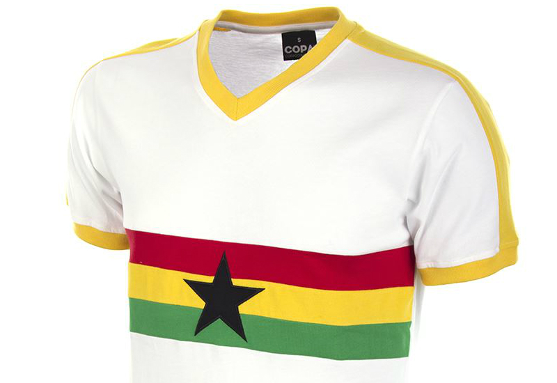 Copa Ghana 1980s Retro Football Shirt