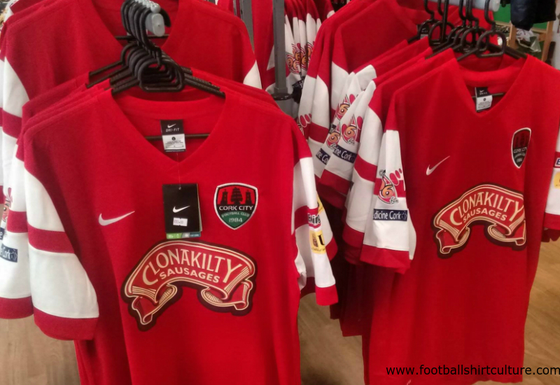 Cork City 2016 Nike Away Football Shirt