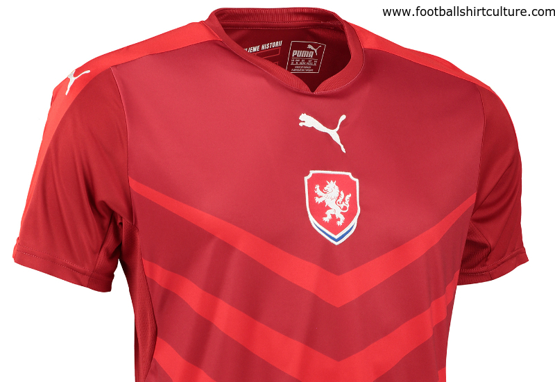 Czech Republic 2016 Puma Home Football Shirt