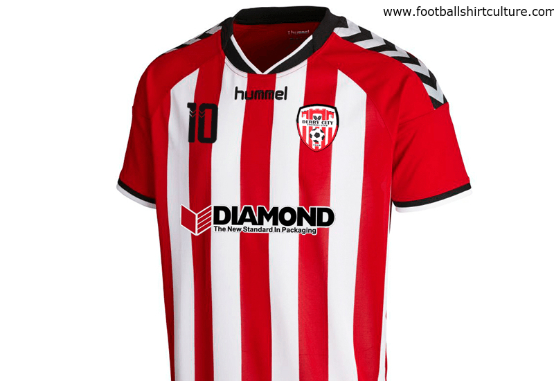 Derry City 2016 Hummel Home Football Shirt
