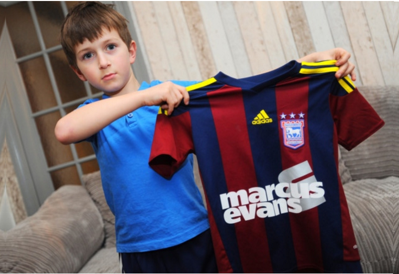 Fans Frustrated As Ipswich Towns Barcelona Away Kit Is Worn Just Once
