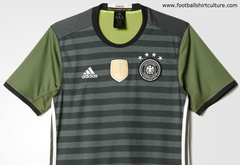 Germany Euro 2016 Adidas Away Football Shirt