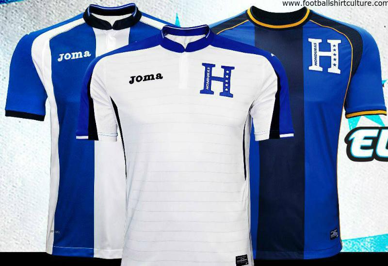 d54958935a2 Honduras 2016 Joma Home Away Third Kits