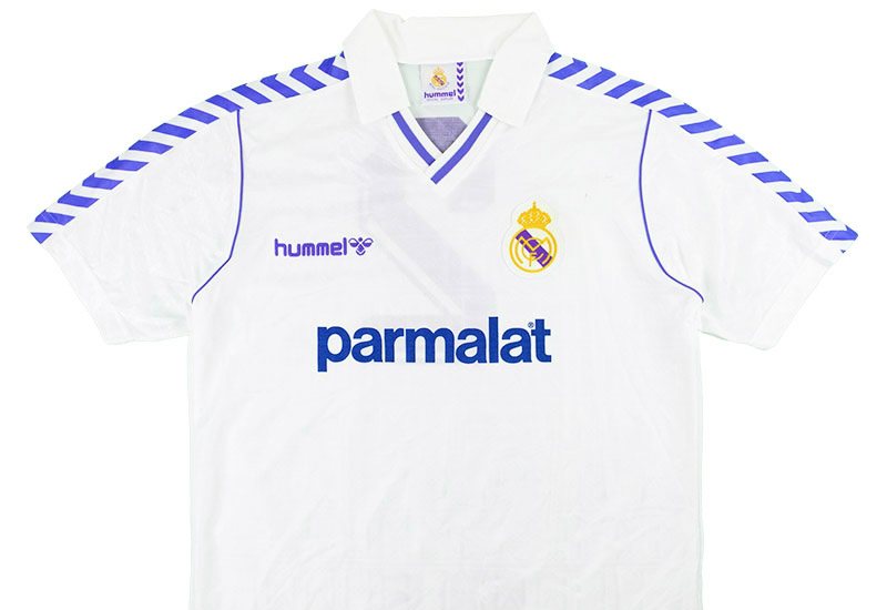 Hummel 1988 1989 Real Madrid Match Issue Home Shirt