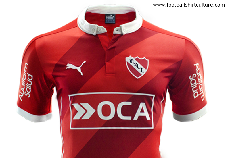 Independiente 2016 Puma Home Football Shirt