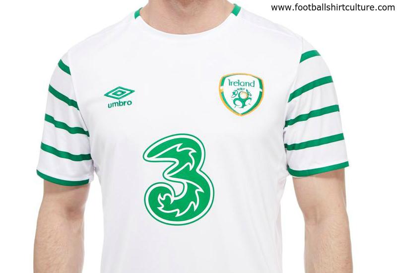 8d9dfbb27ac Ireland 2016 Umbro Away Kit | 16/17 Kits | Football shirt blog