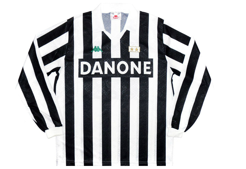 the best attitude 19b6f aa7ff Kappa 1992-94 Juventus Home Shirt | Vintage Football Shirts ...