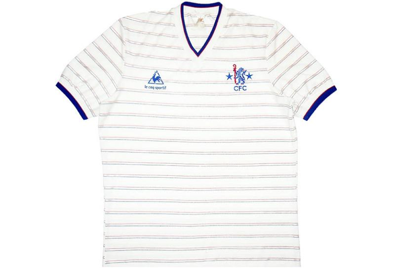 reputable site 2f615 29a8b Le Coq Sportif 1984-86 Chelsea Away Shirt | Vintage Football ...