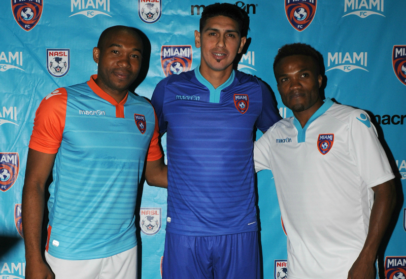 Miami Fc 2016 Macron Football Kits