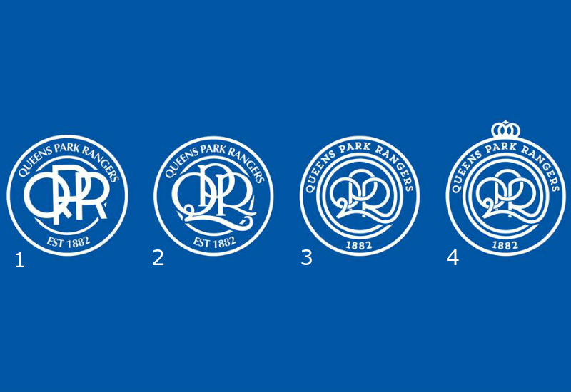 New Queens Park Rangers Club Crest Vote