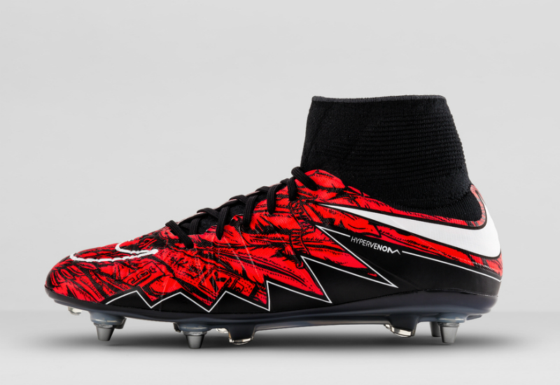 watch f4942 75569 Nike Hypervenom II Lewandowski Football Boots - Red / Black ...
