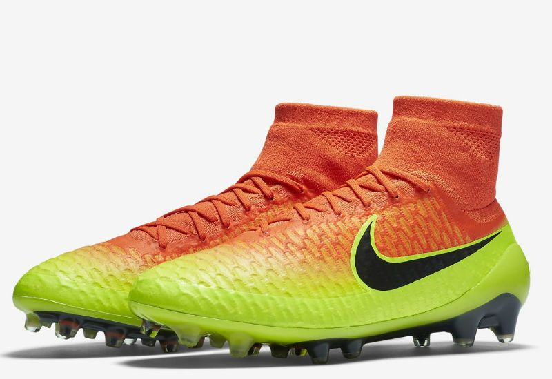 Nike Magista Obra Fg Spark Brilliance Pack Total Crimson Volt Bright Citrus Black