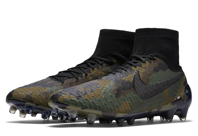 Nike Magista Obra Se Fg Camo Pack Medium Olive Dark Army Dark Cinder Black