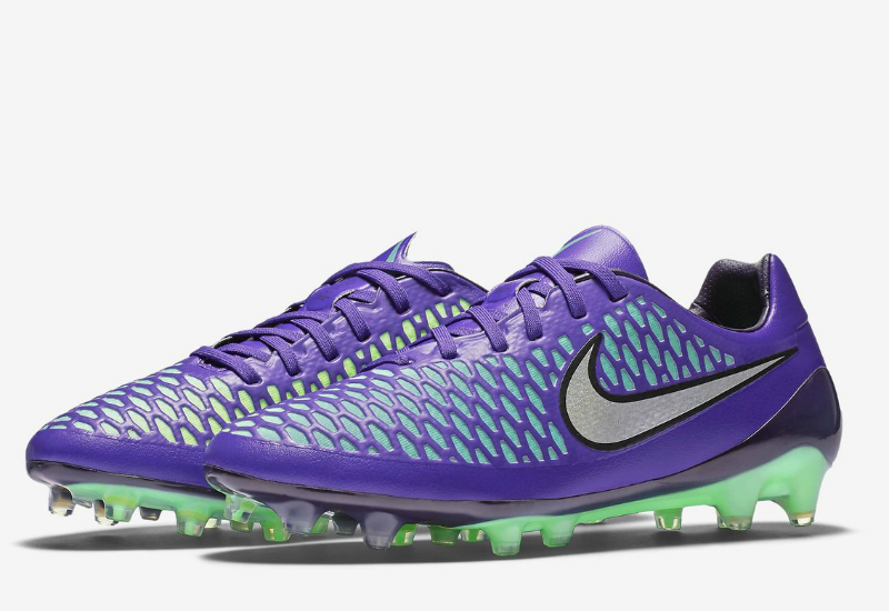 Nike Magista Opus Fg Metal Flash Pack Hyper Grape Ghost Green Green Glow Metallic Silver