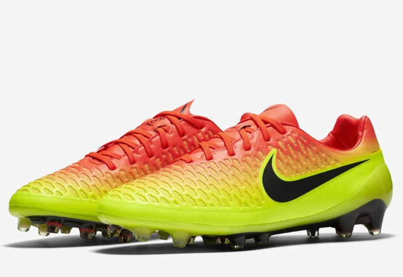 Nike Magista Opus Fg Spark Brilliance Pack Total Crimson Volt Bright Citrus Black