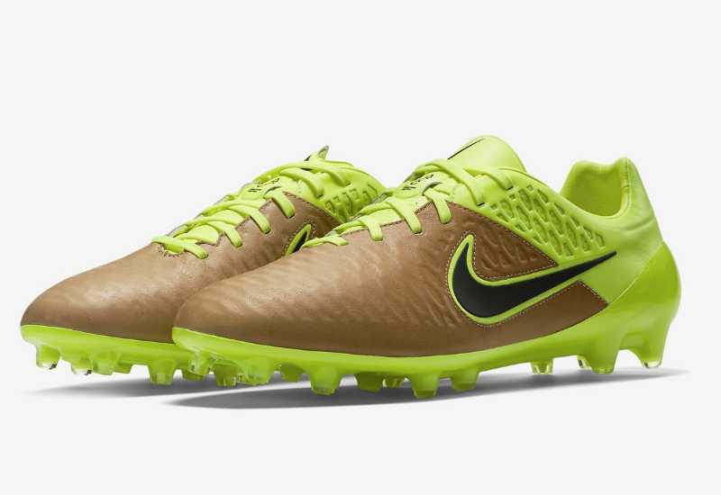Nike Magista Opus Leather Fg Tech Craft Canvas Volt Black