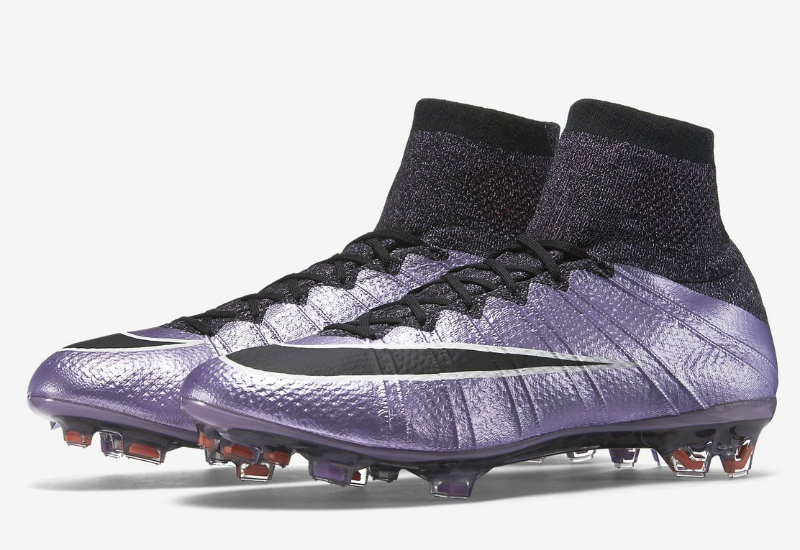 be9b27e5ffb4 Nike Mercurial Superfly Fg Liquid Chrome Pack Urban Lilac Black Bright Mango