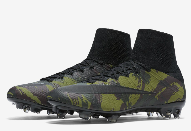 Nike Mercurial Superfly FG Football Black Camouflage