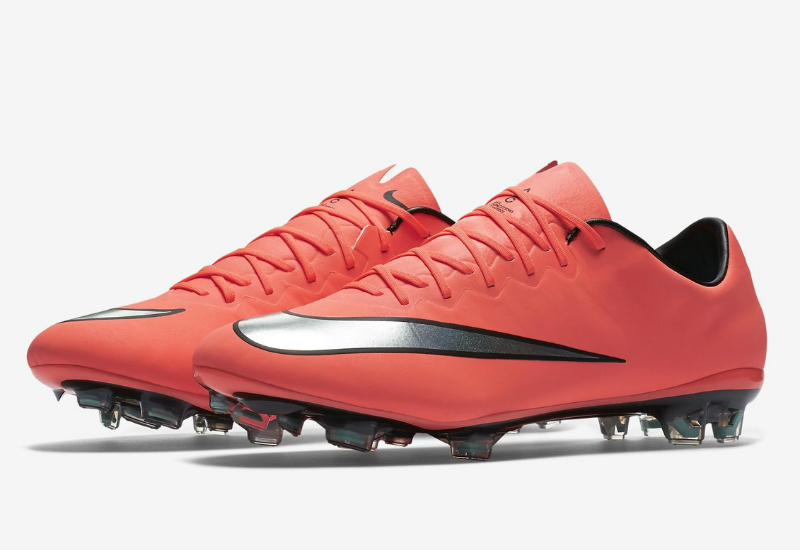 Nike Mercurial Vapor X Fg Metal Flash Pack Bright Mango Hyper Turquoise Metallic Silver