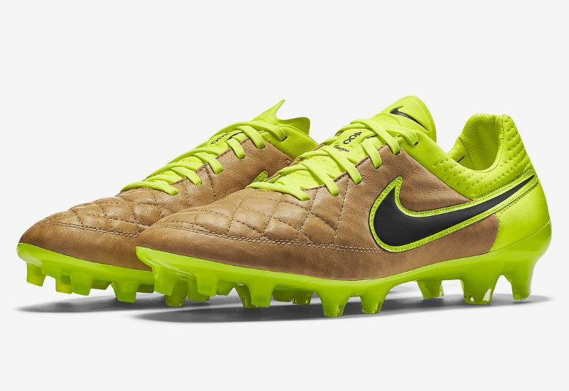 Nike Tiempo Legend V Fg Tech Craft Canvas Volt Black