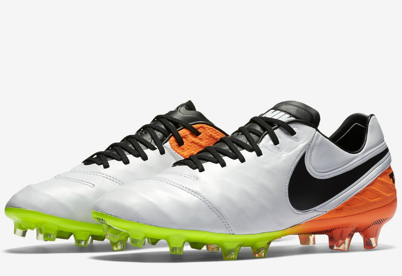 quality design bcbd4 5c71e Nike Tiempo Legend Vi Fg Radiant Reveal Pack White Total Orange Volt Black